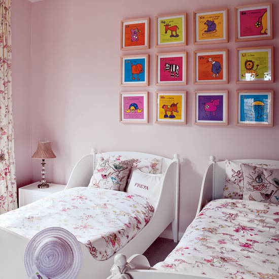 wallpaper kids room. In this next girl#39;s room,