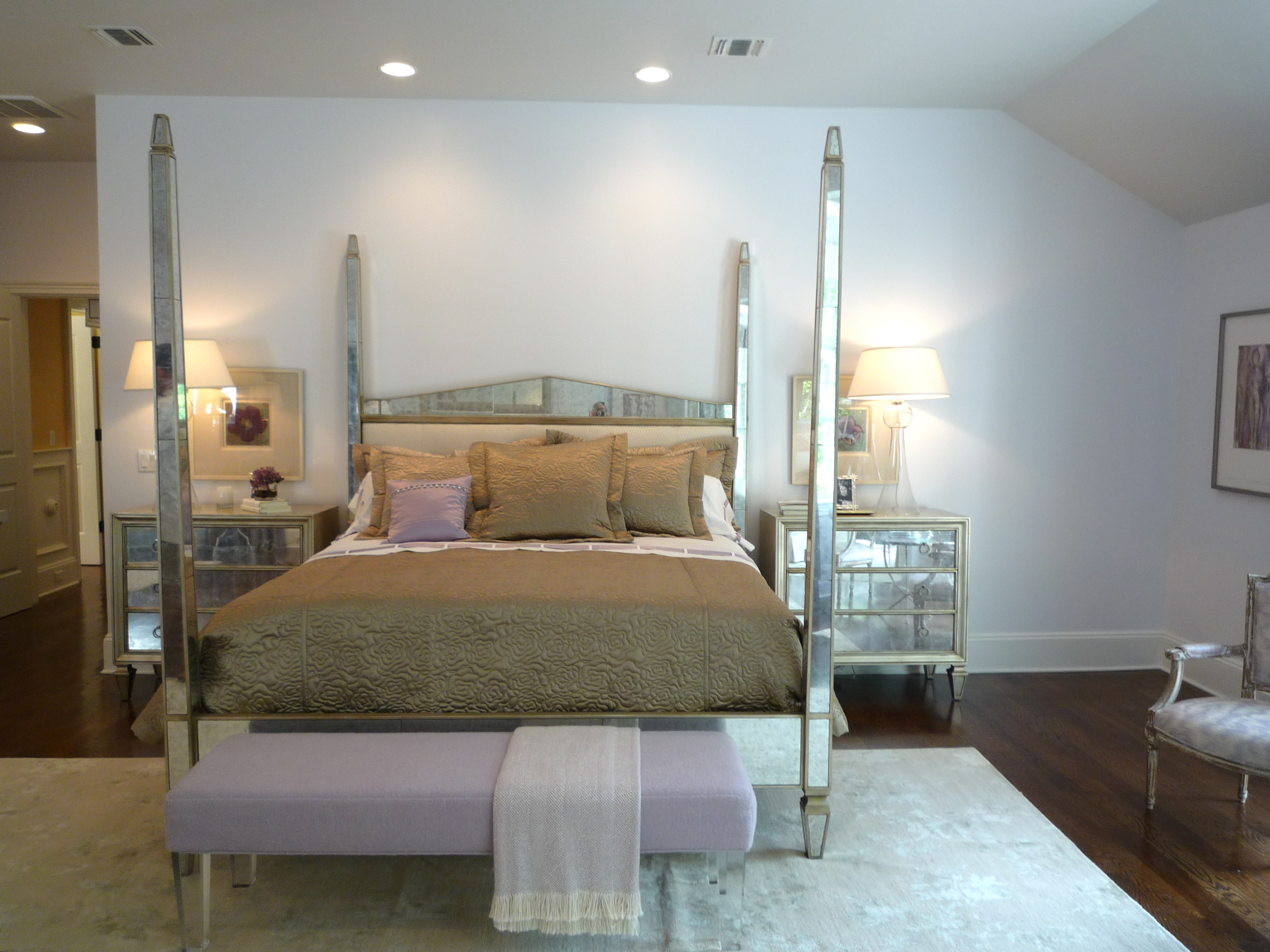 Mirrored Furniture For Bedroom Now Inside The Hampton Designer Showhouse Decor Arts Now