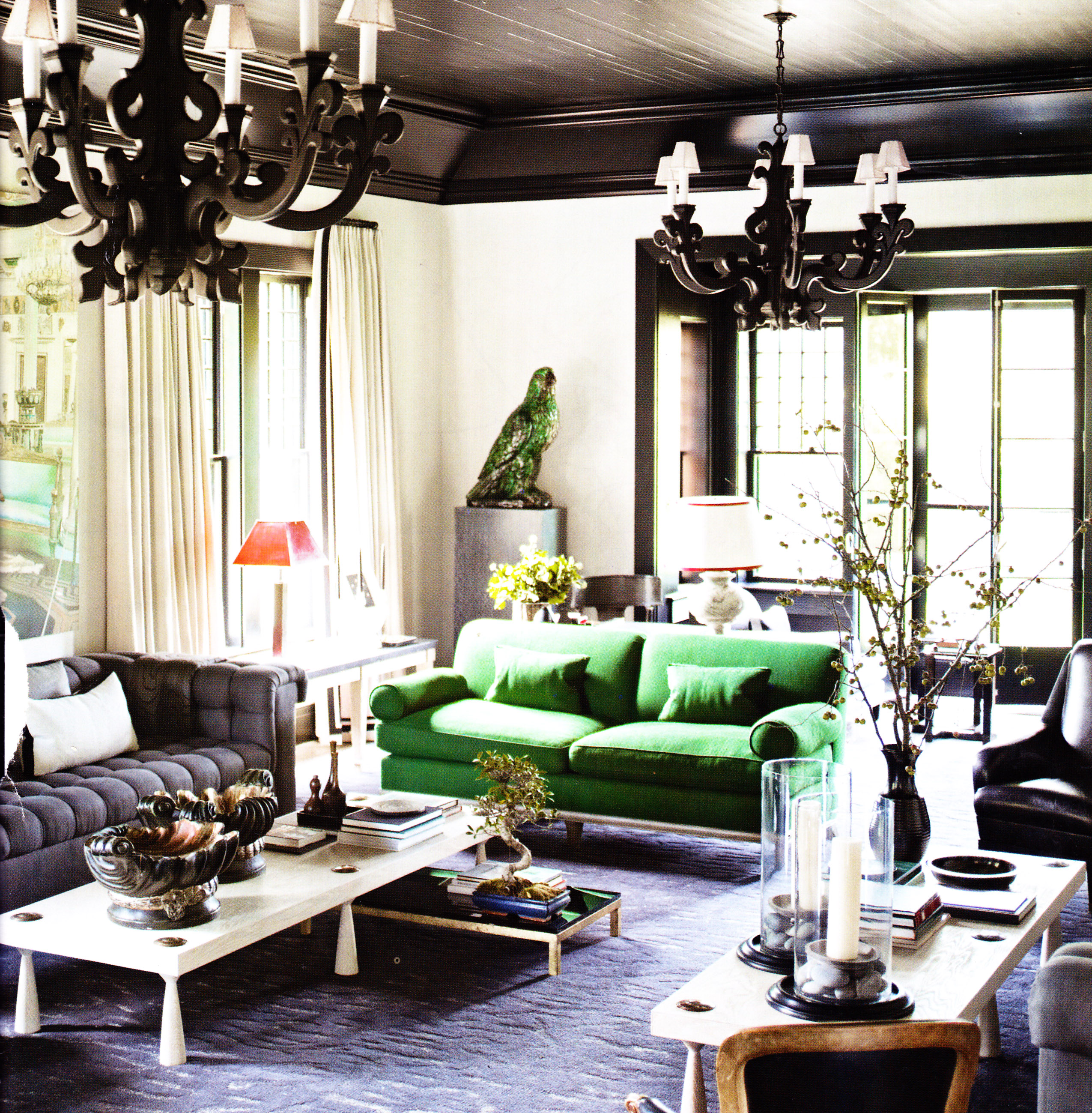 green and black living room 1000 images about lively living rooms on 21588