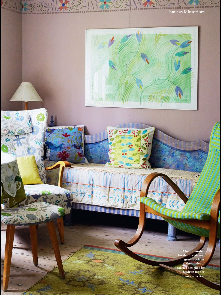 Charleston Decor. And  NOW AND THEN Inspired by the Bloomsbury Group Decor Arts Now